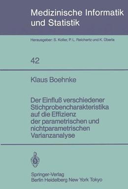 Abbildung von Boehnke | Der Einfluß verschiedener Stichprobencharakteristika auf die Effizienz der parametrischen und nichtparametrischen varianzanalyse | 1983 | 42