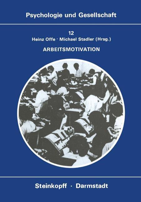 Arbeitsmotivation | Offe / Stadler, 1980 | Buch (Cover)