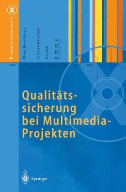 Abbildung von Merx | Qualitätssicherung bei Multimedia- Projekten | 1. Auflage | 1999 | beck-shop.de