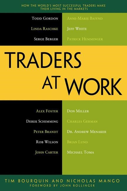Traders at Work | Bourquin / Mango | 1st ed., 2013 | Buch (Cover)