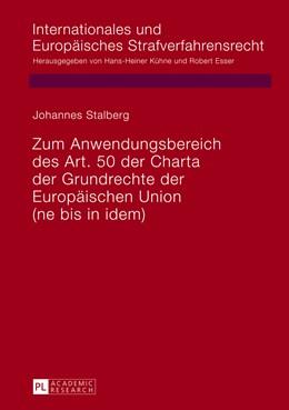 Abbildung von Stalberg | Zum Anwendungsbereich des Art. 50 Charta der Grundrechte der Europäischen Union | 2013 | (ne bis in idem) | 9