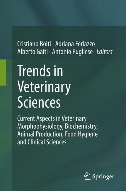 Abbildung von Boiti / Ferlazzo / Gaiti / Pugliese | Trends in Veterinary Sciences | 2013