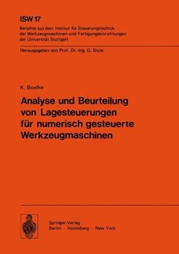 Abbildung von Boelke | Analyse und Beurteilung von Lagesteuerungen für numerisch gesteuerte Werkzeugmaschinen | 1977 | 17