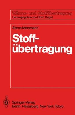 Abbildung von Mersmann   Stoffübertragung   1986