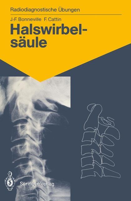 Halswirbelsäule | Bonneville / Cattin, 1990 | Buch (Cover)