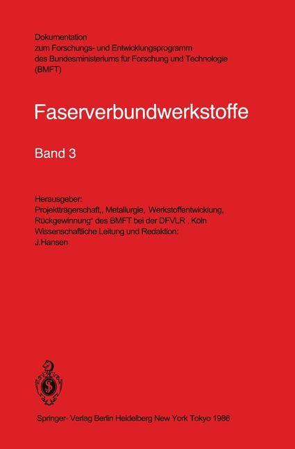 Faserverbundwerkstoffe, 1986 | Buch (Cover)