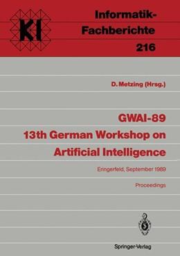 Abbildung von Metzing | GWAI-89 13th German Workshop on Artificial Intelligence | 1989 | Eringerfeld, 18.–22. September... | 216