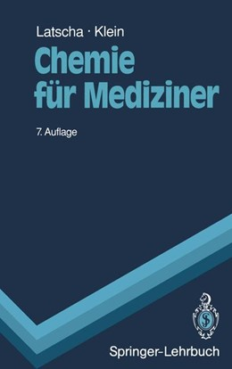 Abbildung von Latscha / Klein | Chemie für Mediziner | 1991 | Begleittext zum Gegenstandskat...