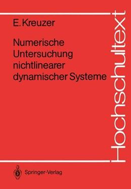 Abbildung von Kreuzer | Numerische Untersuchung nichtlinearer dynamischer Systeme | 1986