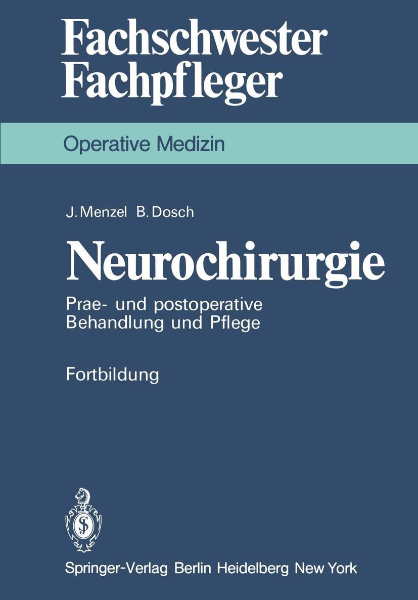 Abbildung von Menzel / Dosch   Neurochirurgie   1979