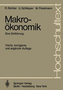 Abbildung von Richter / Schlieper | Makroökonomik | 4. Auflage | 1981 | beck-shop.de