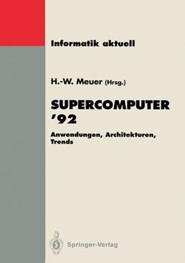 Abbildung von Meuer | Supercomputer '92 | 1992 | Anwendungen, Architekturen, Tr...