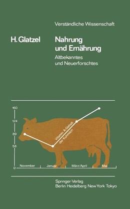 Abbildung von Glatzel   Nahrung und Ernährung   1984   Altbekanntes und Neuerforschte...   39
