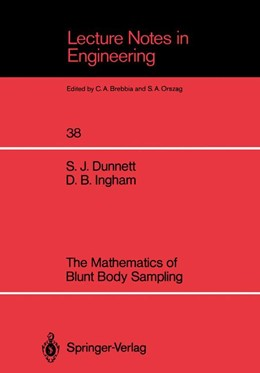 Abbildung von Dunnett / Ingham | The Mathematics of Blunt Body Sampling | 1988 | 38