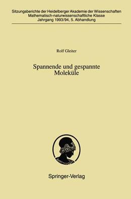 Abbildung von Gleiter | Spannende und gespannte Moleküle | 1994 | 1993/94 / 5