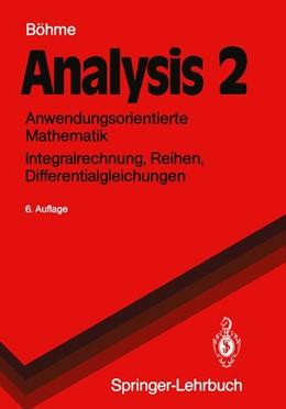 Abbildung von Böhme   Analysis 2   1991   Anwendungsorientierte Mathemat...
