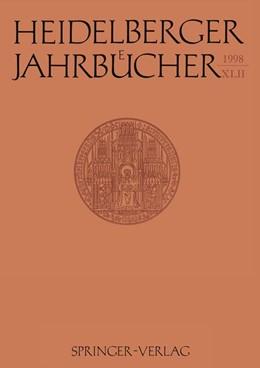 Abbildung von Heidelberger Jahrbücher | 1998 | 42