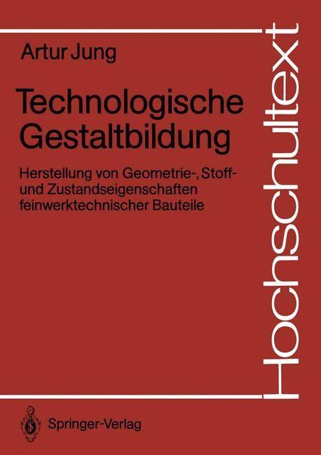 Technologische Gestaltbildung | Jung, 1991 | Buch (Cover)