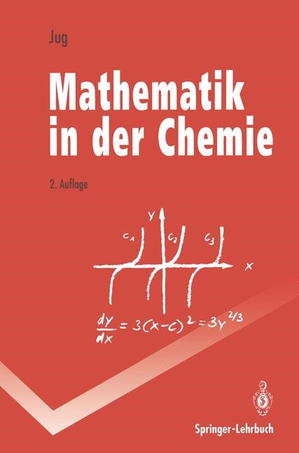 Mathematik in der Chemie | Jug, 1993 | Buch (Cover)
