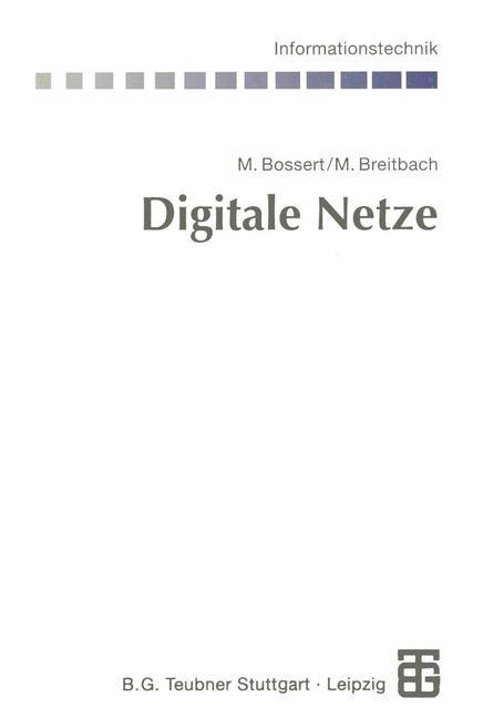 Digitale Netze | Bossert / Fliege, 2012 | Buch (Cover)