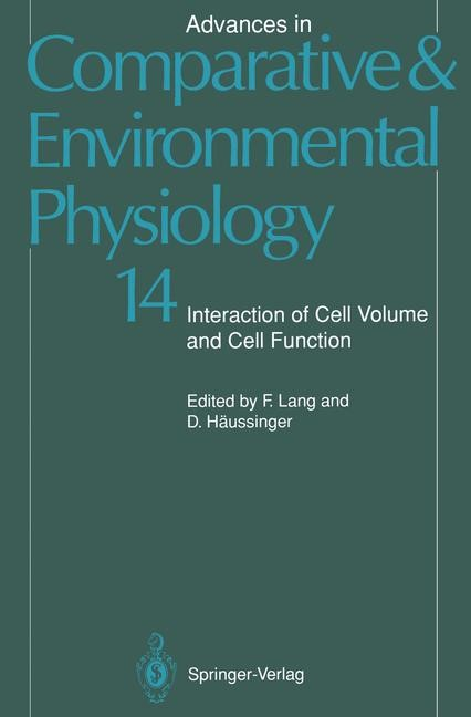 Advances in Comparative and Environmental Physiology, 2011 | Buch (Cover)