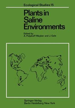 Abbildung von Poljakoff-Mayber / Gale | Plants in Saline Environments | 2011 | 15