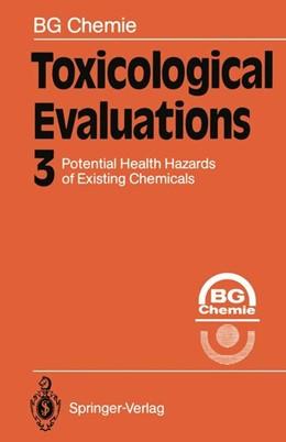 Abbildung von Toxicological Evaluations   2011   3