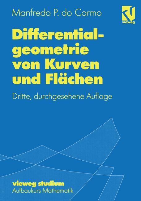 Abbildung von do Carmo | Differentialgeometrie von Kurven und Flächen | 1993