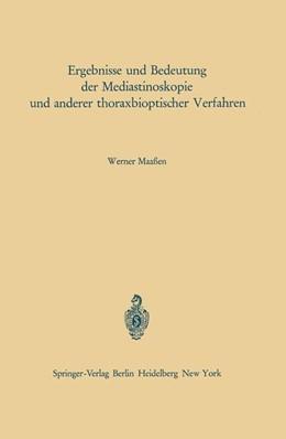 Abbildung von Maaßen | Ergebnisse und Bedeutung der Mediastinoskopie und anderer thoraxbioptischer Verfahren | 1. Auflage | 2012 | 19 | beck-shop.de