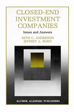 Abbildung von Anderson / Born | Closed-End Investment Companies | 1. Auflage | 2012 | 7 | beck-shop.de