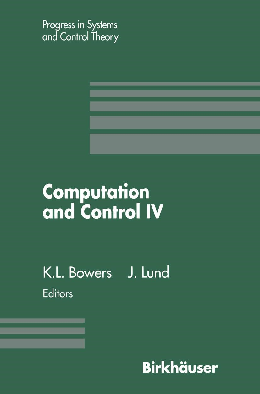 Computation and Control IV | Bowers / Lund, 2011 | Buch (Cover)