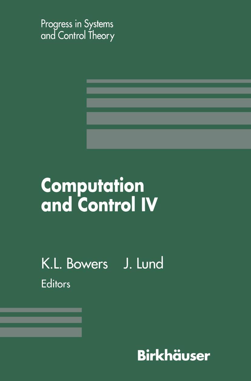 Abbildung von Bowers / Lund | Computation and Control IV | 2011
