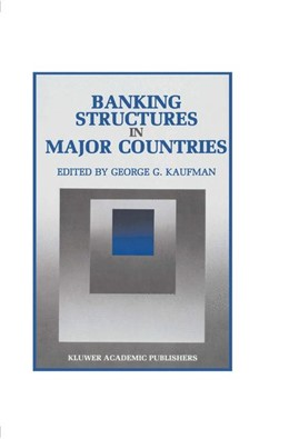 Abbildung von Kaufman | Banking Structures in Major Countries | 1. Auflage | 2012 | 6 | beck-shop.de