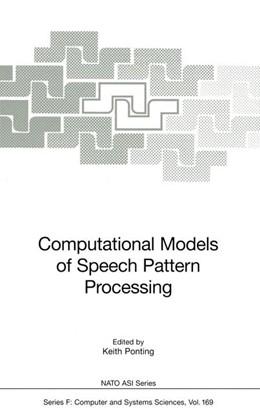 Abbildung von Ponting   Computational Models of Speech Pattern Processing   1. Auflage   2011   169   beck-shop.de