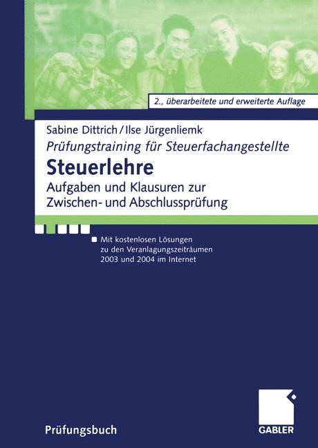 Abbildung von Dittrich / Jürgenliemk | Steuerlehre | 2., überarb. u. erw. Aufl. 2003 | 2003