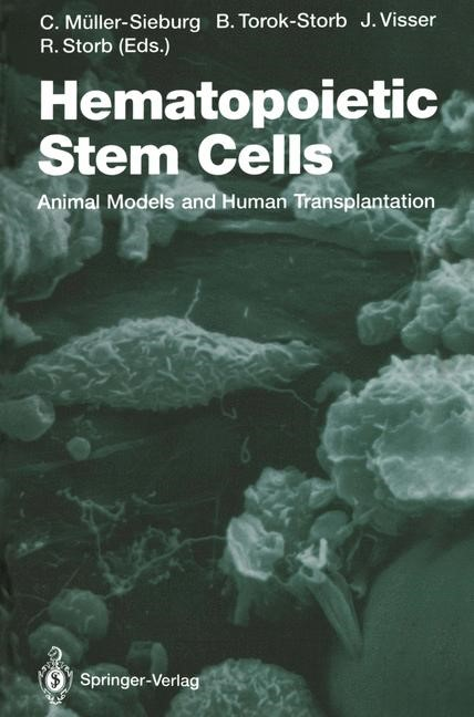 Hematopoietic Stem Cells | Müller-Sieburg / Torok-Storb / Visser / Storb, 2011 | Buch (Cover)