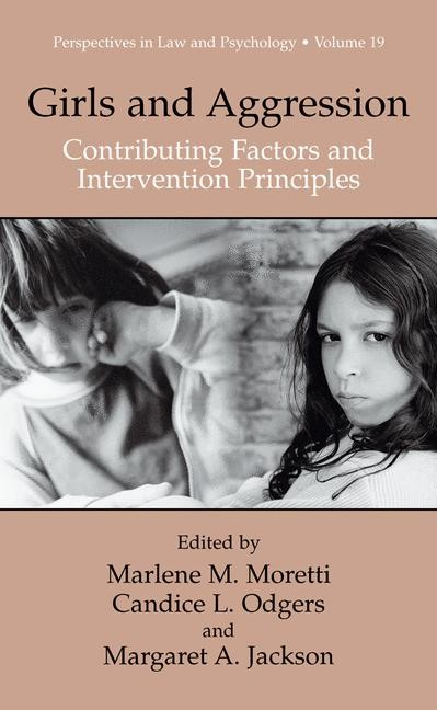 Girls and Aggression | Moretti / Odgers / Jackson, 2012 | Buch (Cover)