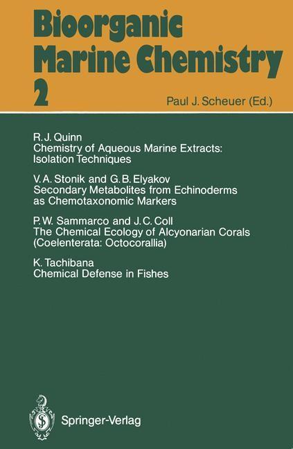 Abbildung von Bioorganic Marine Chemistry   2012