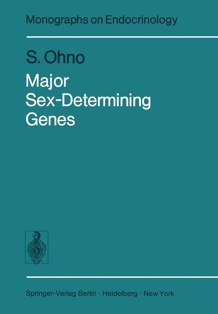 Major Sex-Determining Genes   Ohno, 2011   Buch (Cover)