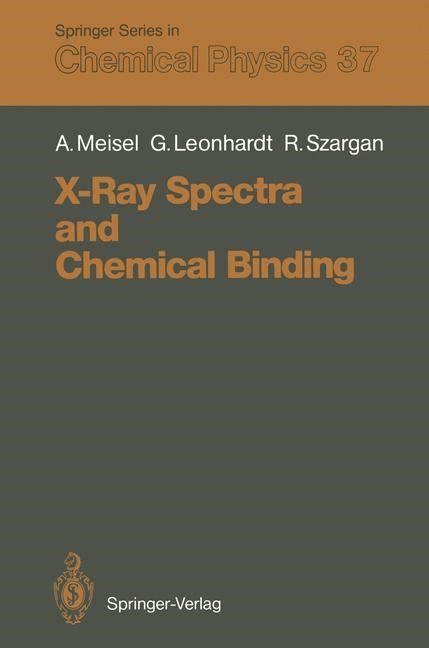 Abbildung von Meisel / Leonhardt / Szargan | X-Ray Spectra and Chemical Binding | 2011