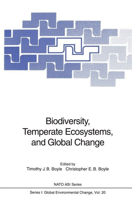 Biodiversity, Temperate Ecosystems, and Global Change | Boyle, 2011 | Buch (Cover)