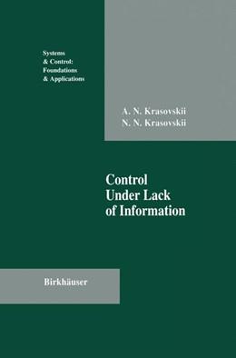 Abbildung von Krasovskii | Control Under Lack of Information | 2011