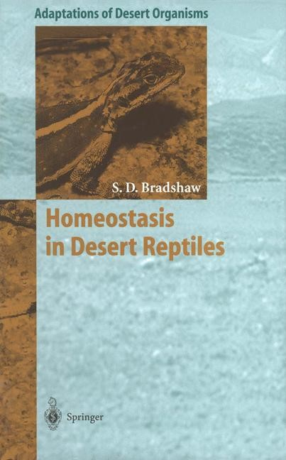 Homeostasis in Desert Reptiles | Bradshaw, 2011 | Buch (Cover)