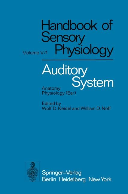 Auditory System | Ades / Axelsson / Baird, 2011 | Buch (Cover)