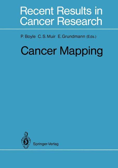 Cancer Mapping | Boyle / Muir / Grundmann, 2011 | Buch (Cover)