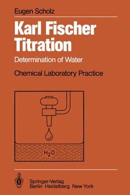 Abbildung von Scholz | Karl Fischer Titration | 2011 | Determination of Water