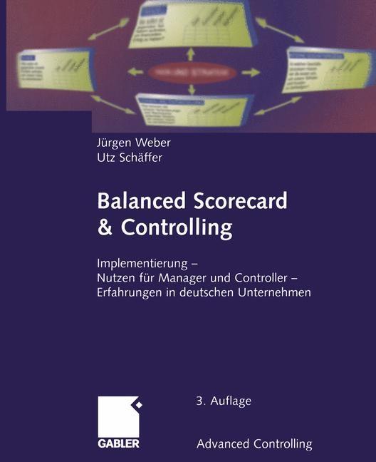 Balanced Scorecard & Controlling | Weber / Schäffer, 2012 | Buch (Cover)