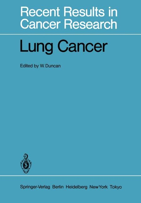 Lung Cancer | Duncan, 2011 | Buch (Cover)