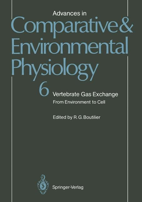 Vertebrate Gas Exchange | Boutilier, 2011 | Buch (Cover)