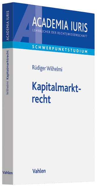 Kapitalmarktrecht | Wilhelmi, 2019 | Buch (Cover)